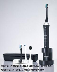 パナソニック 電動歯ブラシ ドルツ 黒 EW-DE55-K