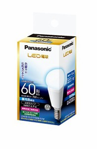 パナソニック LED電球 E17口金 電球60W形相当 昼光色相当(6.9W) 小型電球・広配光タイプ 1個入 密閉形器具対応 LDA7DGE17K60ESW