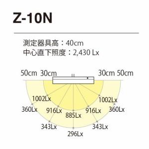 Z-LIGHT LEDデスクライト Z-10N W ホワイト  明るさ2430Lx 連続調光