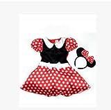 ミニー コスチューム 子供 コスプレ ハロウィン 衣装 90〜130cm (120)