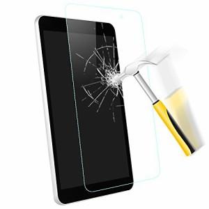 wisers ガラスフィルム LG G Pad 8.0 ? LGT02 / J:COM 8 インチ タブレット 専用 [ 2017 年 新型ト、スムースタッチ、0.3mm