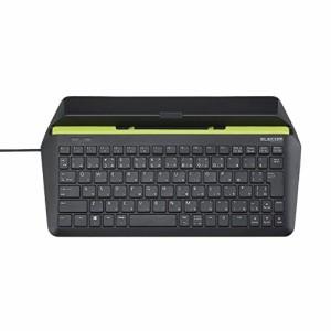 【2014年モデル】エレコム タブレット用キーボード 有線 Windows/Android パンタグラフ ブラック TK-FCP066BK