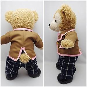 Sサイズ(全長43cm) ダッフィー 衣装 ピンク色 学生服 コスチューム hdn32