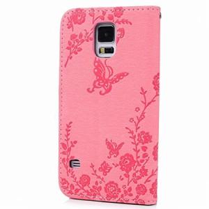 HB-Int 3 IN 1 Samsung Galaxy S5 SC-04F SCL23 ケース 手帳型 レザー カバー カードポケット ス×1 、イヤホンジャック×1)