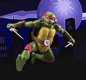 S.H.フィギュアーツ Teenage Mutant Ninja Turtles ラファエロ 約150mm PVC&ABS製