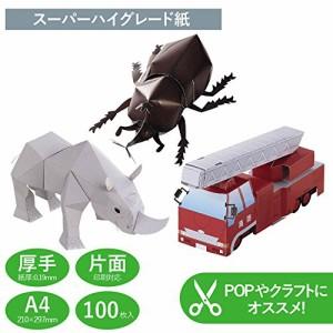 コピー用紙 A4 紙厚0.19mm 100枚 日本製 インクジェット用紙 マット紙 EJK-SAA4100