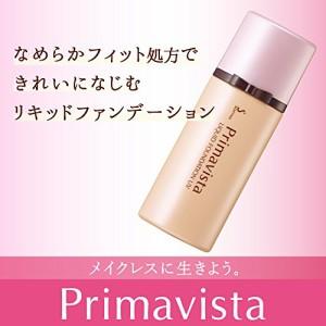 プリマヴィスタ 化粧のり実感リキッドファンデーション UV オークル05 SPF25 PA++ 30ml