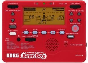 KORG リズムマシン/レコーダー/チューナー/エフェクター Beat Boy ビートボーイ