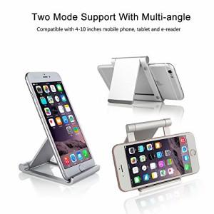 スマホスタンド ・タブレット用スタンド・コンパクトマルチアングルスタンド  おりたたみ 角度調整可能  iPhone iPad iPod Galaxy Nexu