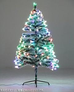 不二貿易 オプティック クリスマス ツリー ネオンボール 60cm 85452