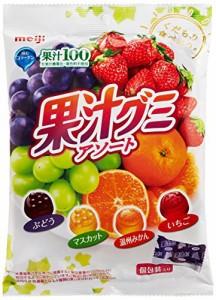 """""""明治 果汁グミアソート個包装 90g×6袋"""""""