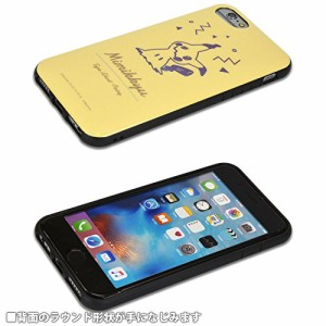 グルマンディーズ ポケットモンスター iPhone7/6s/6対応ラウンドソフトケース ミミッキュ poke-576e