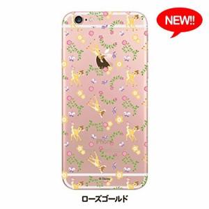 iPhone6s/6ケース/iJacket/ディズニーキャラクター/ハードケース/マットクリア/バンビ/PG-DCS852BAM