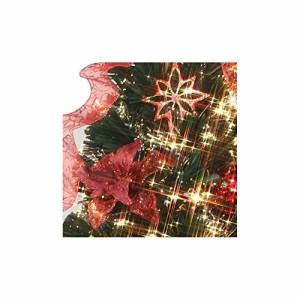 クリスマス DXファイバーツリーセット 120cm