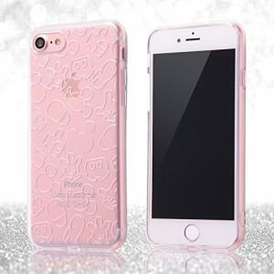 レイ・アウト iPhone7ケース ディズニー TPUソフトケース(ラメ入り) キラキラ/ミッキーマウス RT-DP12A/MK