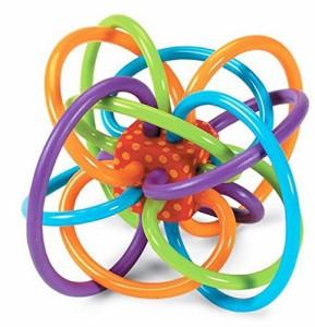 (エイチケーエイチ) HKH いっぱい遊ぼう オーボール 知育遊具 ベビー キッズ 子供 おもちゃ ボール 玩具 赤ちゃん (レッド)