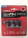 Comply(コンプライ) T-400 ブラック Mサイズ 3ペア HC17-40101-04