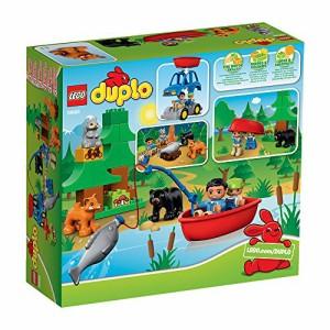 """レゴ (LEGO) デュプロ の森 """"さかなつり"""" 10583"""