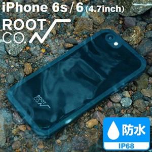 (ROOT CO.)iPhone6 iPhone6s IP68 防塵 防水 指紋認証対応 ケース 全面保護 H2O Water & Shock Proof Hard Shell IP68 iPh
