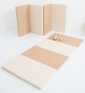 マイクリエイト ジョイントマット 折り畳みプレイングマット Sサイズ ナチュラル