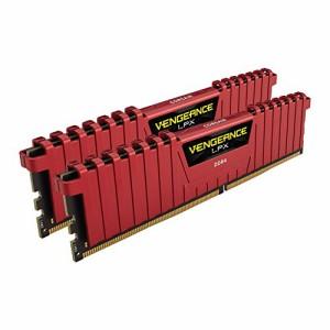 CORSAIR DDR4 メモリモジュール VENGEANCE LPX Series 8GB×2枚キット CMK16GX4M2A2400C14R
