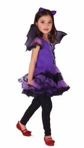 コウモリ 衣装 キッズコスチューム 女の子 130cm-140cm