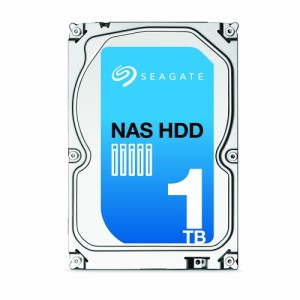 Seagate シーゲイト 内蔵 ハードディスク NAS HDD 3.5 インチ 1TB ST1000VN000 -SWT