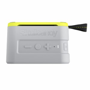 Skullcandy 鉄壁ボディー Bluetoothスピーカー IPX7防水機能 耐衝撃 ワイヤレス GRAY A7PCW-J583