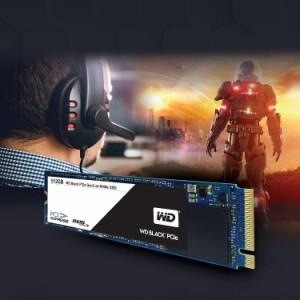 WD 内蔵SSD M.2-2280 / 512GB / WD Black / PCIe Gen3 NVMe  / WDS512G1X0C