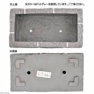 FRPレンガ調プランター 430F ホワイトP(W43×D23×H19cm) お一人様2点限り