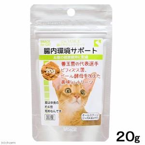 ドクターヴォイス 猫にやさしいトリーツ 腸内環境サポート 20g キャットフード