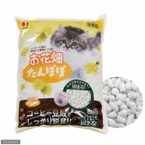 猫砂 お花畑 たんぽぽ 5L 猫砂 紙 固まる 燃やせる お一人様10点限り (猫 トイレ)