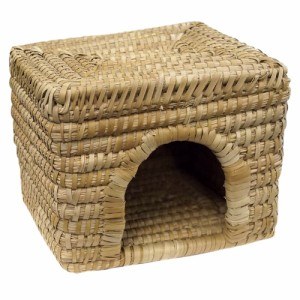ミニアニマン 南の国の手編み クラフトハウス スクエア 小動物 ハウス (小動物 鳥かご)