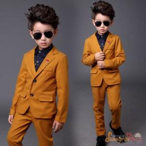 男の子 子供 キッズ フォーマル スーツ ジャケットパンツ スーツセット 上下セット ジュニア 男児 卒業式 発表会 入学式 入園式 結婚式