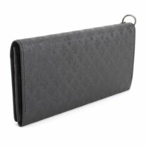 展示品箱なし パトリックコックス 財布 長財布 リング付き 黒(ブラック) PATRICK COX pxmw9et2-10 メンズ 紳士