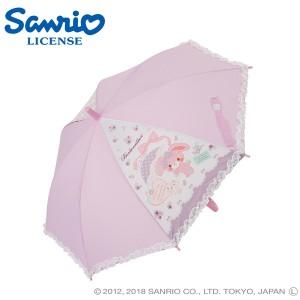傘 キッズ 雨傘 50ぼんぼんりぼんディズニー キャラクター ジャンプ式/