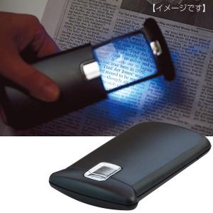 拡大鏡 ルーペ ニューライト&ルーペ ライト ライト付き 小型 持ち歩き 携帯