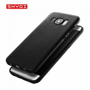 Samsung Galaxy S8 Plus GALAXY S8 +   ケース 耐衝撃 TPU レザー調 カバー 薄型/スリム サムスン ギャラクシーS8 プラス ソフトケース