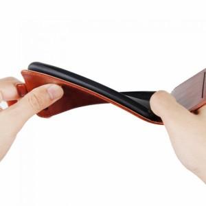 HTC U11 ケース レザー ヴィンテージ風 縦開き フリップタイプ おしゃれ  HTC U11 下開きレザーケース おすすめ おしゃれ アンドロイド