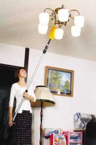 【送料無料】 高い所の汚れをスッキリ解決!吹抜け・天井ハイクリーナー