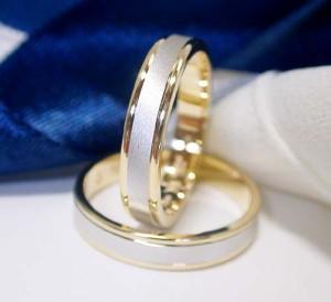 結婚指輪 ペア価格 Pt900 K18 イエローゴールド ペアリング 2カラー