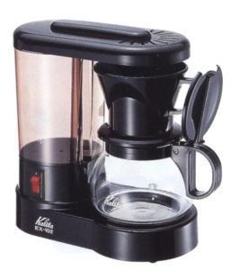 送料無料【カリタ コーヒーメーカー EX-102N 浄水機能付】水道水のカルキ除去をおこなう浄水機能付