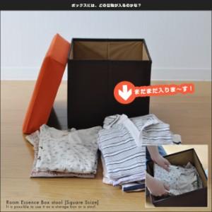 【セール】ボックススツール スクエア Sサイズ AQUA限定ホワイト&ブラック追加 Box stool 収納ボックスになる腰掛け