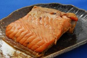 【旬の秋鮭使用】鮭の焼漬(2切パック)/サケ/さけ/切身/ご飯のおかず/焼魚/切り身/お惣菜