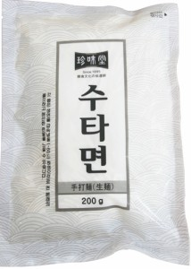 【クール便選択必要!】業務用 手打麺 (200g) ★韓国食品市場★韓国食材/韓国料理/韓国麺類/ 激安/麺/冷凍麺
