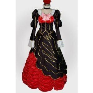 うみねこのなく頃に 黄金の魔女 ベアトリーチェ 風 コスプレ衣装★   完全オーダメイドも対応可能 * K182