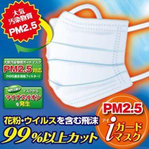 アイガードマスク(PM2.5対応 大気汚染物質・花粉をガード)30枚入り