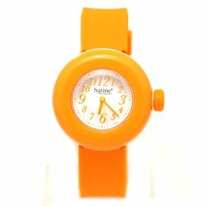 PIERRE HERME ピエールエルメ レディース マカロン 腕時計 シリコン アナログ mas-0141426 オレンジ