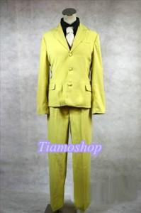 うみねこのなく頃に  右代宮譲治 スーツ 風 ★コスプレ衣装  完全オーダメイドも対応可能 * K3393