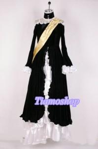 うみねこのなく頃に  ワルギリア 風 ★コスプレ衣装  完全オーダメイドも対応可能 * K3396